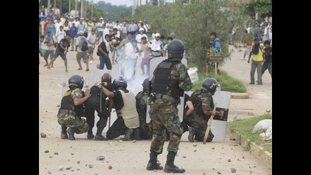 FFAA controlará protestas de mineros informales en Madre de Dios