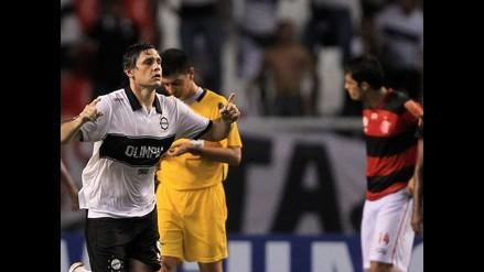 Olimpia consigue empate heroico ante Flamengo en la Copa Libertadores