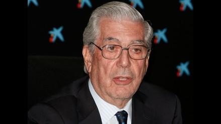 Vargas Llosa: ´europeos tienen una visión menos racista de América latina´