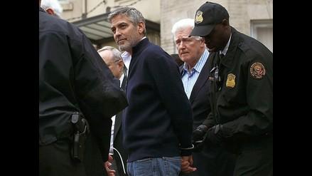 Detención de George Clooney causó revuelo en Twitter