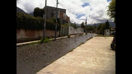 Abancay: Preocupación en Tamburco tras desprendimiento de cerro