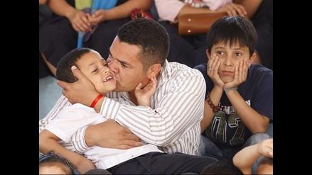 Cientos celebran el Día del Padre en Honduras