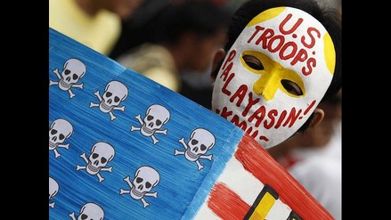 Filipinas: Manifestantes recuerdan nueve años de la guerra en Irak