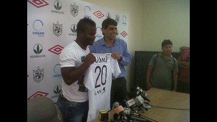 Johnnier Montaño fue presentado como nuevo jugador en la San Martín