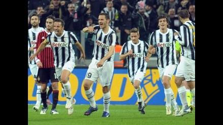 Juventus iguala con Milan y clasifica a final de la Copa Italia