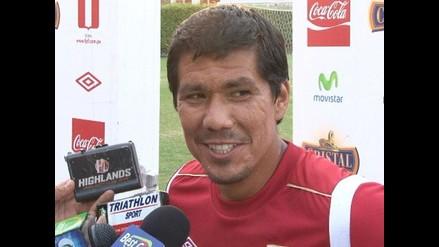 Walter Vílchez toma el partido con Chile como un cotejo para mostrarse