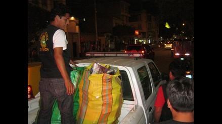 Trasladan a 10 detenidos al Callao tras incautación de cocaína en Ate