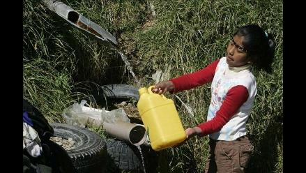 OPS: tres millones de peruanos aún no tienen acceso a saneamiento