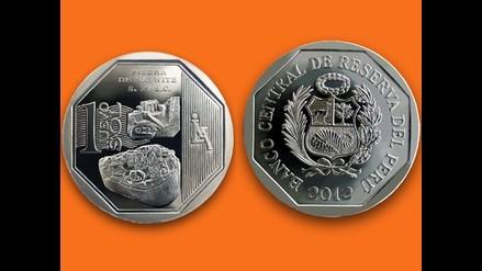 Conozca la nueva moneda de S/.1 alusiva a la Piedra de Saywite