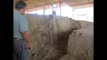 Lambayeque: Crecida del río Motupe aísla al complejo Huaca Bandera