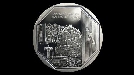 Ya circulan 10 millones de monedas alusivas a la Piedra de Saywite