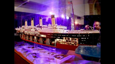 A 100 años del hundimiento del Titanic se exponen piezas en Museo