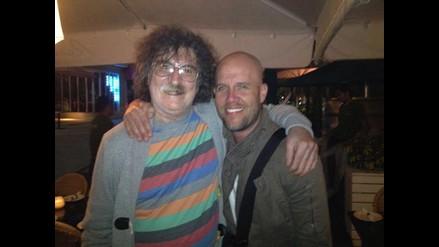 Gian Marco publica foto con Charly García