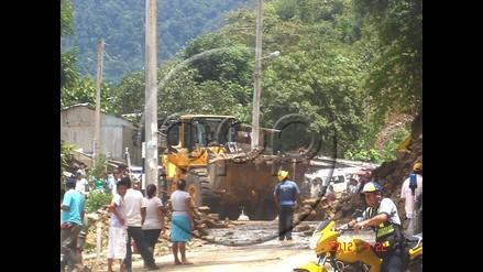 Restablecen tránsito en vías Tingo María- Monzón y Tingo María-Huánuco