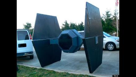 EE.UU: Nave espacial TIE Fighter de Star Wars es vendida por internet