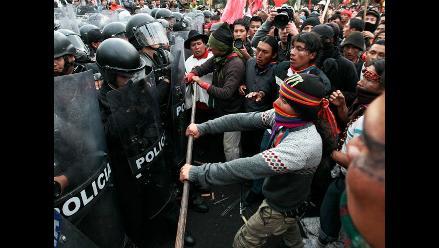 Indígenas luchan contra minería a gran escala en Ecuador con masiva marcha