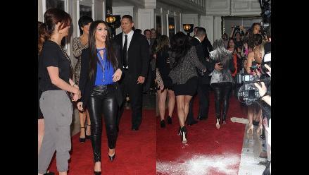 PETA niega estar involucrado en ataque con harina a Kim Kardashian