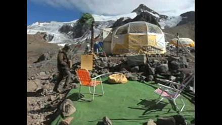 La galería de arte más alta del mundo cumple diez años en el Aconcagua