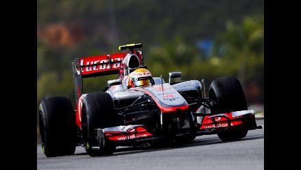Lewis Hamilton arrancará primero en el Premio de Malasia