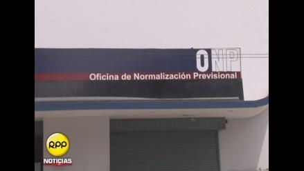 Malestar por actualización de datos de pensionistas de la ONP
