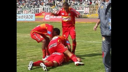 Sport Huancayo derrotó 1-0 al Melgar de la mano de Sergio Ibarra