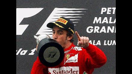 Fernando Alonso se impone en el Gran Premio de Malasia de Fórmula Uno