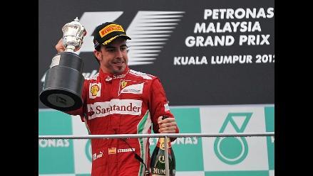 Fernando Alonso está sorprendido con su triunfo en el GP de Malasia
