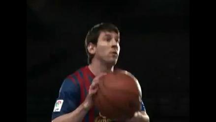 Lionel Messi emula a Michael Jordan en nuevo comercial de ´Herbalife´