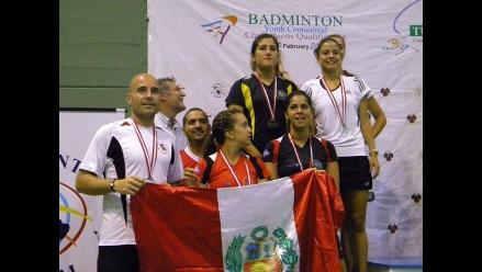 Equipo peruano de bádminton se baña en oro en Torneo Internacional
