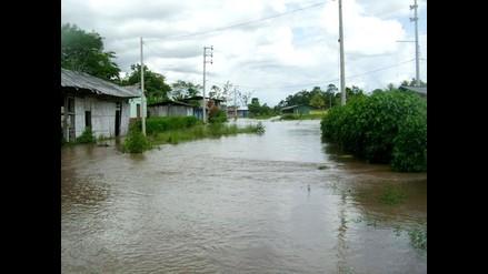 San Martín: Desborde río Tonchima deja 500 familias afectadas en Rioja