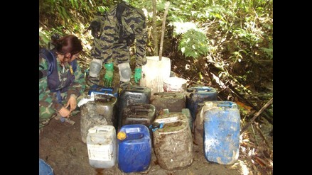 Huánuco: Policía Antidrogas destruye dos laboratorios de PBC en Monzón