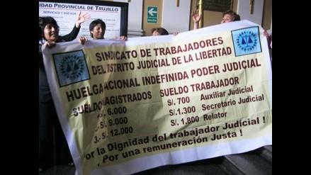 Chimbote: Impedirán ingreso a contratados durante huelga del PJ