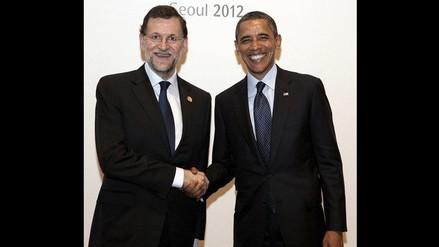 Obama invita a Rajoy a Casa Blanca tras encuentro en Seúl