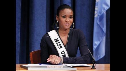 Miss Universo fue nombrada embajadora de la ONU contra la desertización