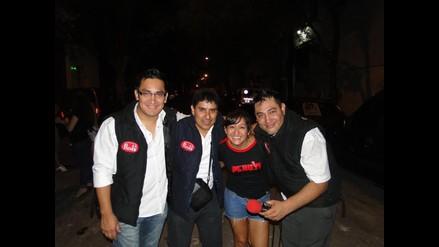 Prensa 10 plasma en imágenes la actividad de peruanos en la Argentina