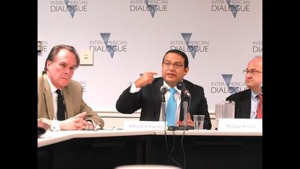 Otárola reafirmó posición pacifista de Perú en América Latina