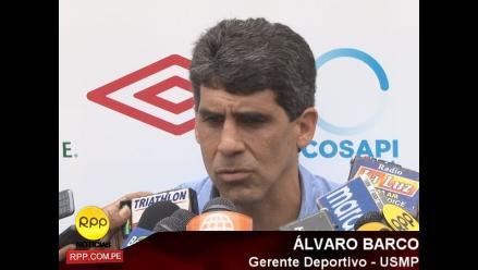 Álvaro Barco: Falta un refuerzo más para la Universidad San Martín