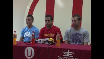 Miguel Ximénez y Horacio Calcaterra listos para jugar en Universitario