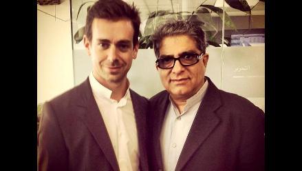 Presidente ejecutivo de Twitter se reúne con Deepak Chopra