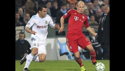 Revise las mejores fotos del Olympique de Marsella vs. Bayern Munich