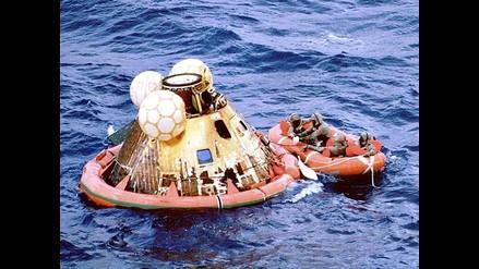 Fundador de Amazon halla en el fondo del océano los motores del Apollo 11