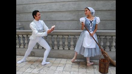 Estrenan la Cenicienta en el Teatro Municipal