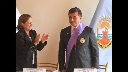 Alcalde Juan Sotomayor renuncia a Chim Pum Callao