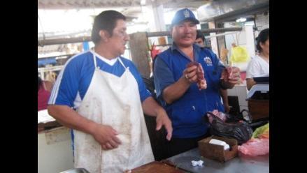 Trujillo: Incautan 4 kilos de carne de burro en mercado