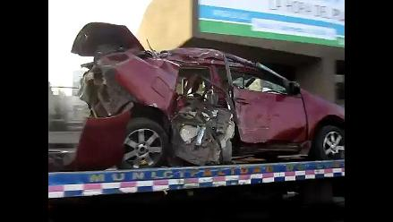 VIDEOS: Así terminó el auto en el que murió director de N´samble