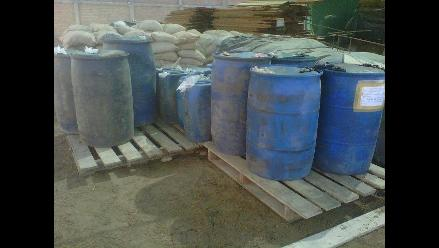Arequipa: Decomisan 860 galones de combustible sin documentación