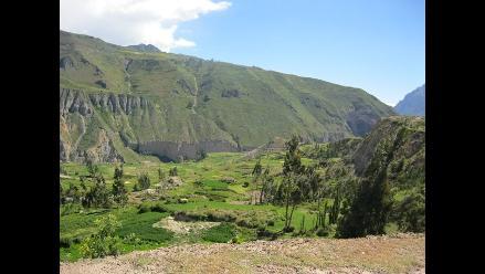 Arequipa: Tránsito hacia el valle del Colca es restringido
