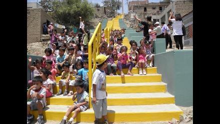 Trujillo: Escaleras buscan cambiar el rostro de El Porvenir