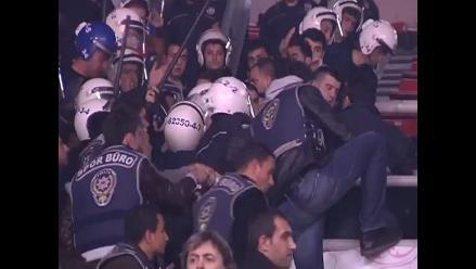 Batalla campal en la final del Torneo de Básquet Femenino de Turquía