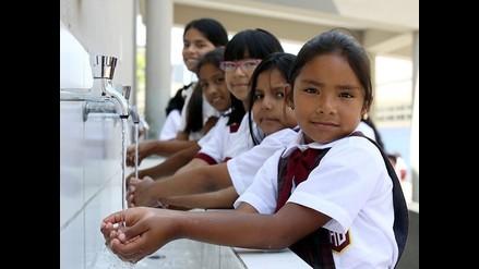 Un millón de escolares esperan batir nuevo récord de lavado de manos
